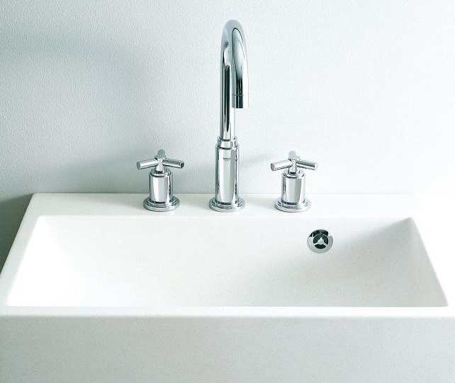 3 Hole Deck Mounted Basin Mixers