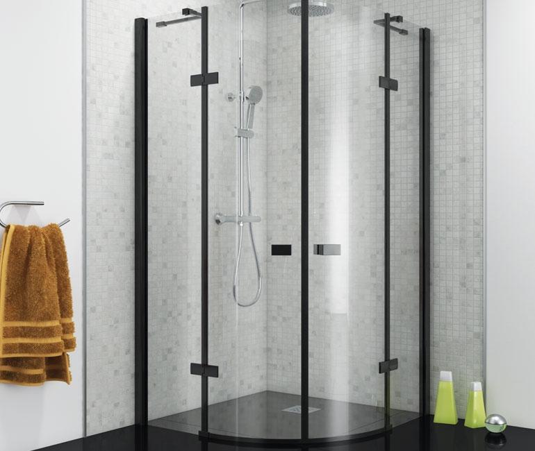 Black Framed Shower Enclosures