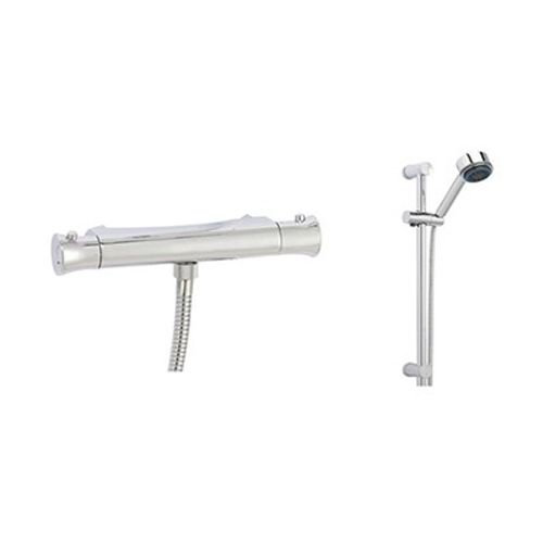 Fusion Adjustable Bracket Slide Rail Shower