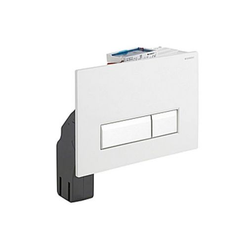Geberit Sigma40 White Dual Flush Plate with Integrated Odour Extraction 115.600.KQ.1
