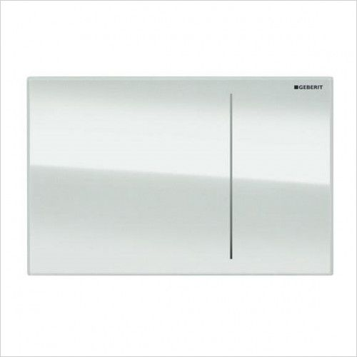 Geberit Sigma 70 Dual Flush Plate for 120mm Concealed Cistern Customised 115.621.00.1