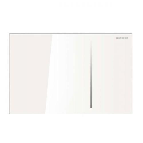Geberit Sigma 70 Dual Flush Plate White Glass 115.621.SI.1