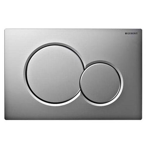 Geberit Sigma01 Dual Flush Plate Gloss Matt Chrome 115.770.KA.5