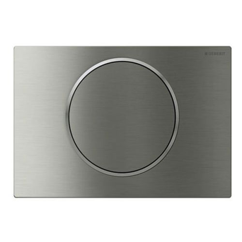 Geberit Sigma10 Mains Operated Touchless and Anti Vandal Flush Plate Stainless Steel 115.906.SN.1