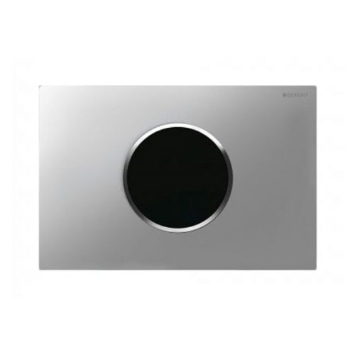 Geberit Sigma10 Mains Operated Touchless Flush Plate Matt Chrome 115.907.KN.1