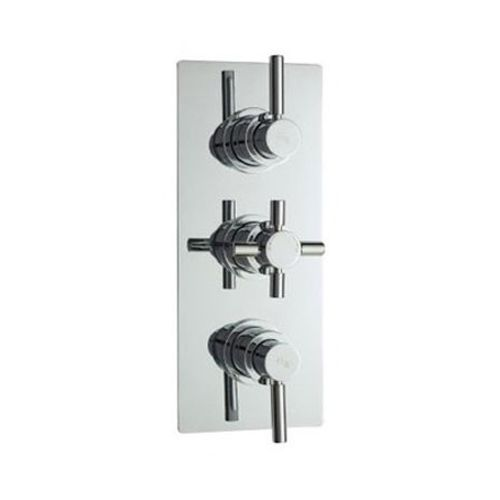 Hudson Reed Tec Pura Plus Concealed Thermostatic Triple Shower Valve