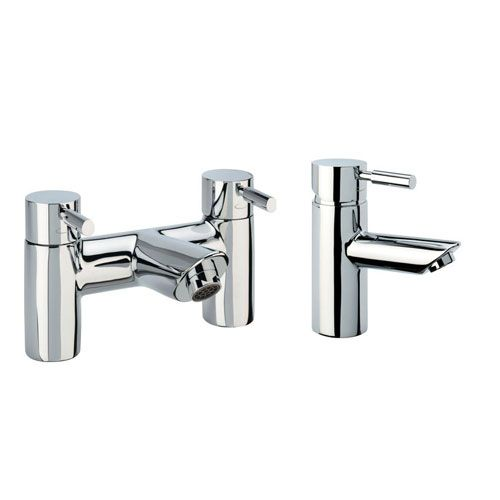 Tavistock Kinetic Mono Basin Mixer and Bath Filler