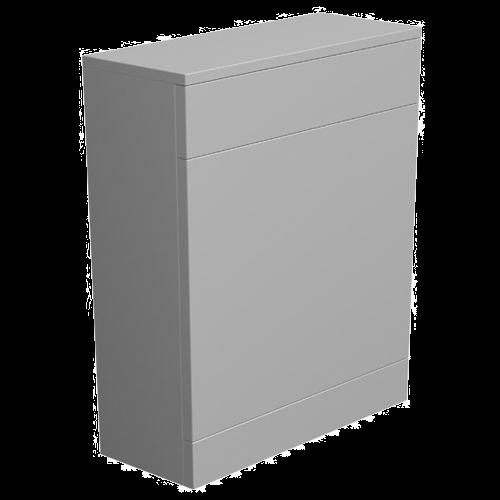 York 500mm Grey Floor-Standing WC Unit