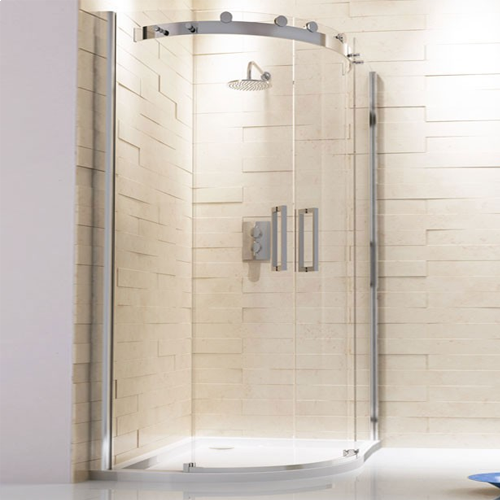 Capua Sliding Door Offset Quadrant Shower Enclosure
