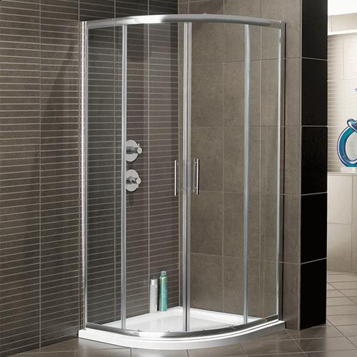 Arley Hydro Sliding Shower Door Quad Enclosure
