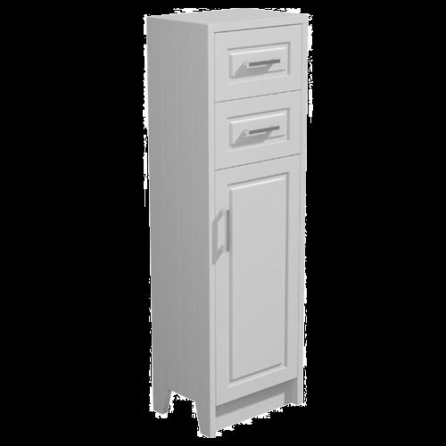 York 450mm Grey Floor Standing Bathroom Cupboard