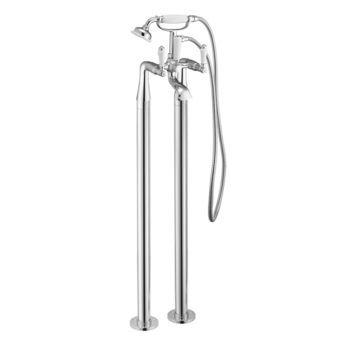 Tec Studio KB York Lever Traditional Freestanding Bath Shower Mixer