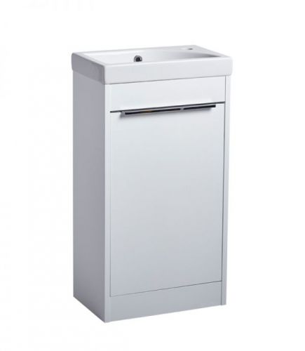 Sequence 450mm Freestanding Unit Only - White