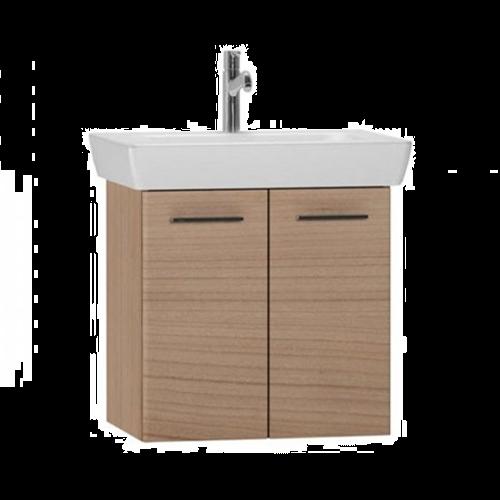 VitrA S20 650mm Vanity Basin Unit Golden Cherry