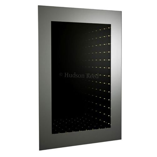 Hudson Reed Lucio Infinity LED Bathroom Mirror H800 x W600 x D45mm with motion sensor technology LQ043