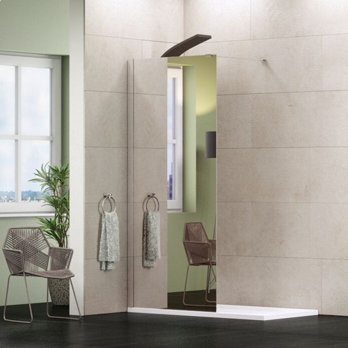 Synergy Mirror Wetroom Glass Shower Panels