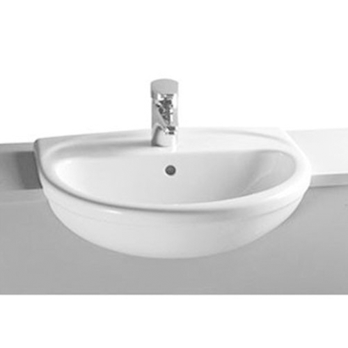 VitrA Layton Semi Recess Basin 56cm