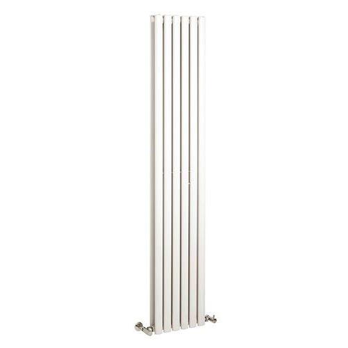 Revival Double Vertical White Radiator 350 x 1800mm