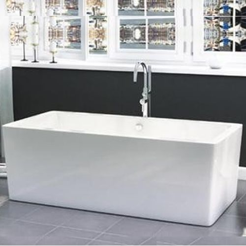Freestanding Modern Double Ended Bath 1705mm - Harper By Voda Design