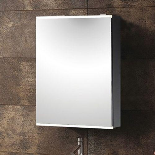 Synergy Virgo Aluminium Mirror Cabinet With Shaver Socket