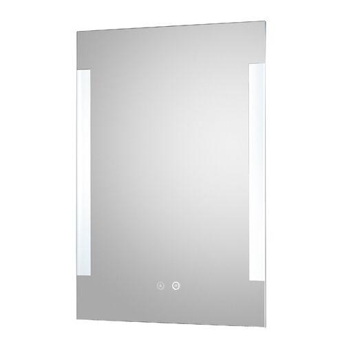 Hudson Reed Vivo LED Touch Sensor Mirror with De-mister pad (H700 x W500 x D30 mm) LQ084