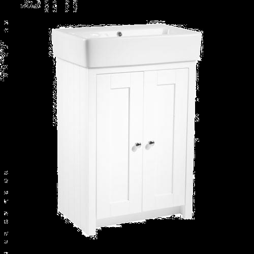 Tavistock Lansdown Linen White 550mm Floorstanding Bathroom Unit
