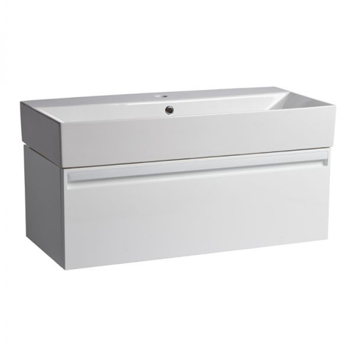Tavistock Forum 900mm Wall Mounted Unit White (Unit Only)