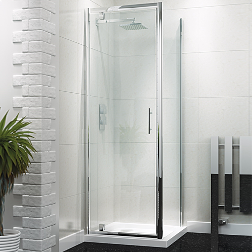 Pivot Shower Door - Kaso 6 by Voda Design (6mm Thick)