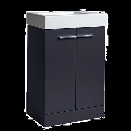Tavistock Kobe 560mm Storm Grey Floorstanding Vanity Basin Unit