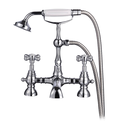 Tec Studio KF York Ball Traditional Bath Shower Mixer