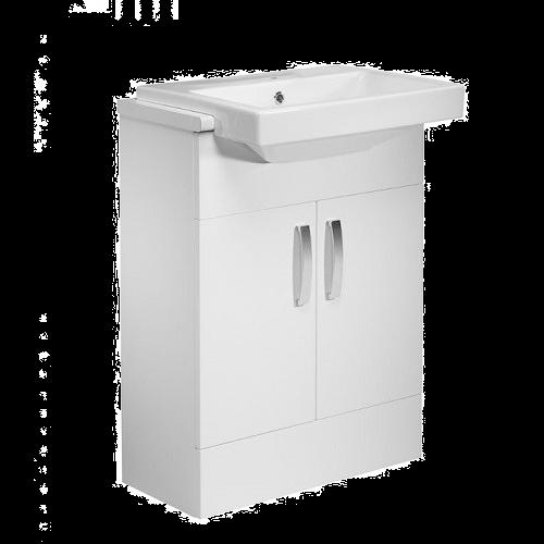 Tavistock Courier 600mm Countertop Vanity Basin Unit - White
