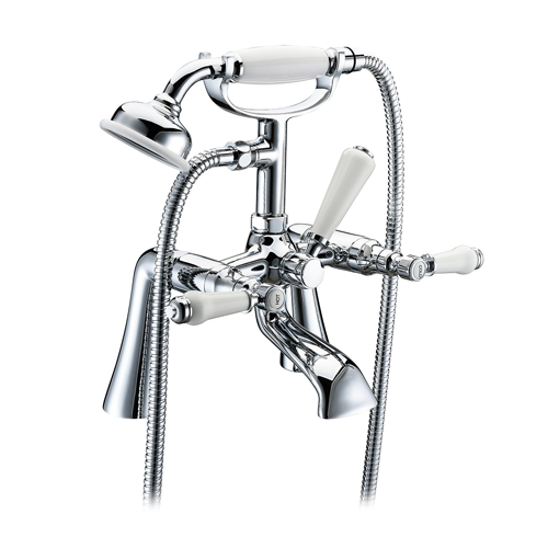 Tec Studio KB York Lever Traditional Bath Shower Mixer