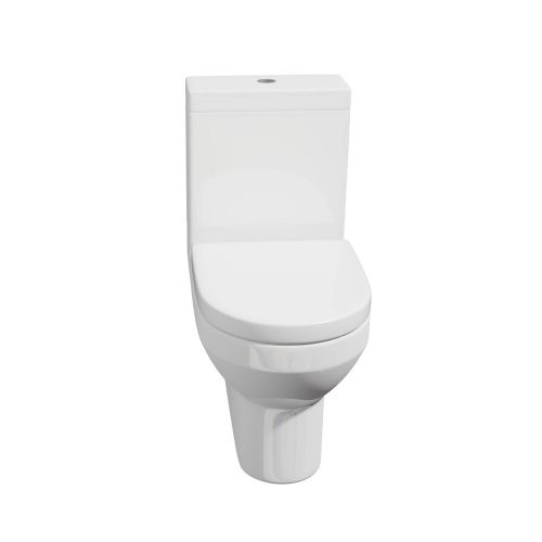 Close Coupled WC Pan, Cistern and Soft Close Seat