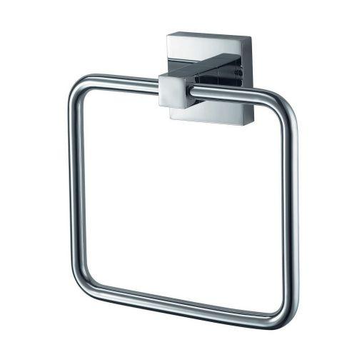 Chrome Towel Ring - Rosa by Voda Design