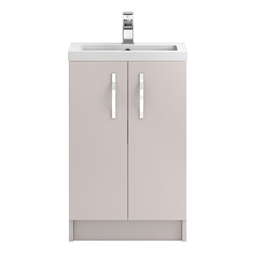 Hudson Reed Cashmere Apollo Floor Standing 500mm Cabinet & Basin - APL724