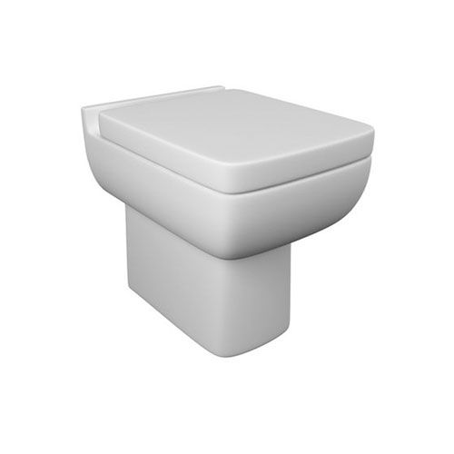 Arley 600 Back To Wall WC Pan with Soft Close Seat
