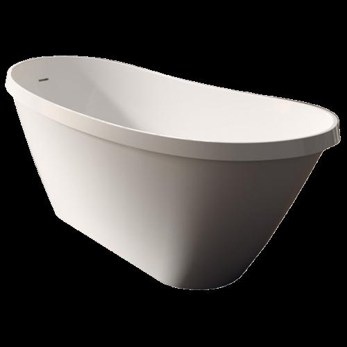 Voda Design Taupo Solid Surface Stonecast Bath 1700mm
