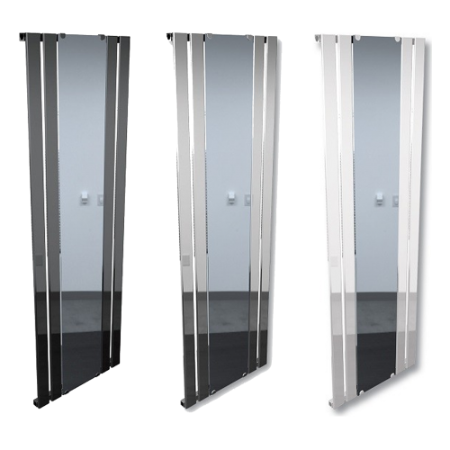 Vertical Radiator with Mirror - Reflection by Voda Design
