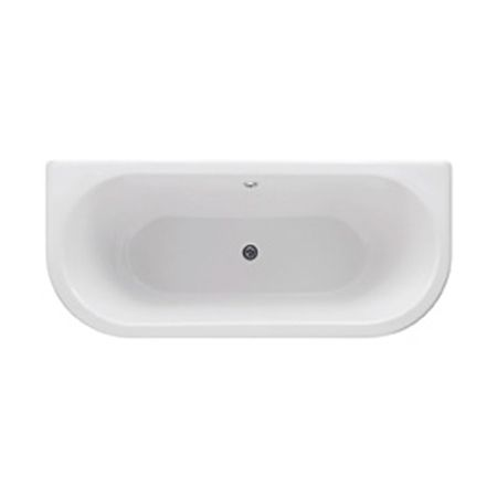 Freestanding Curved Back To Wall Bath 1800mm - Balta By Synergy