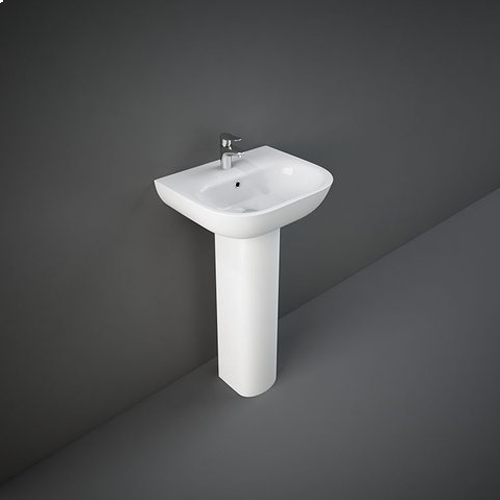 RAK Tonique 45cm or 55cm 1TH Basin with Full Pedestal