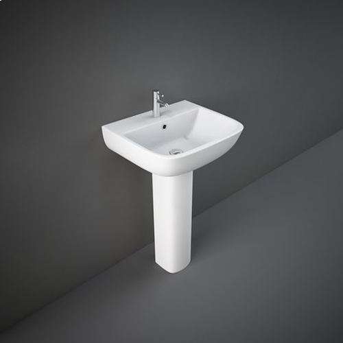 RAK Series 600 Basin with Full or Semi Pedestal