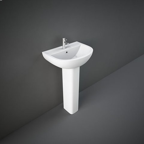 RAK Ceramics Compact Basin with Full Pedestal
