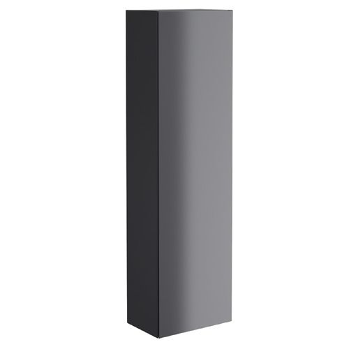 Synergy Berg 400mm Wall Hung Pillar Cabinet - Grey
