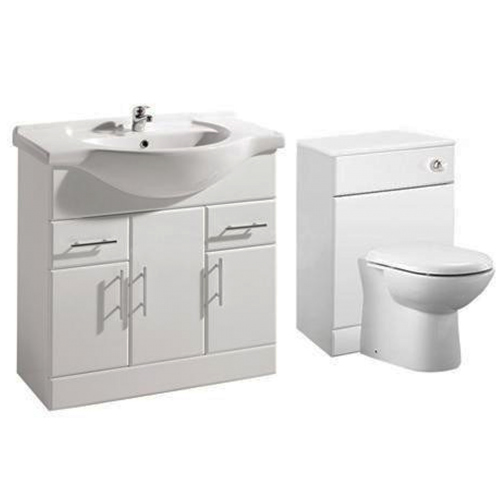 1250mm Blanco Furniture Run Inc Toilet and Vanity Basin