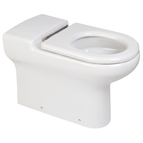 RAK Ceramics Compact Rimless Comfort Height 750mm Extended Special Needs Back to Wall Toilet
