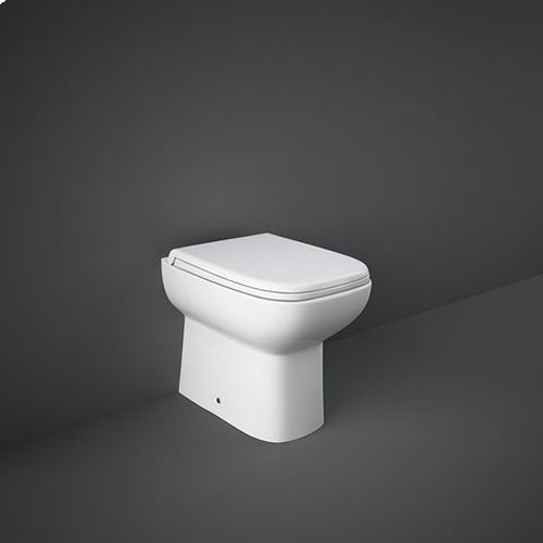 RAK Origin Back to Wall Pan with Soft Close Seat (PP)