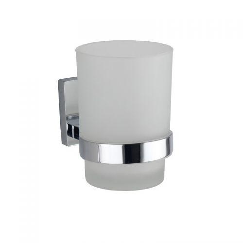 RAK Ceramics Resort Glass Tumbler and Holder