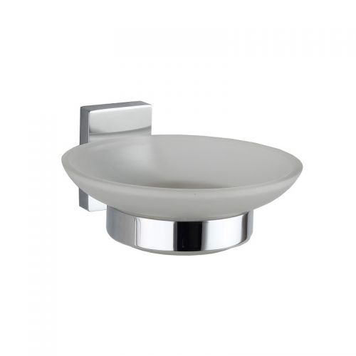 RAK Ceramics Resort Glass Soap Dish and Holder