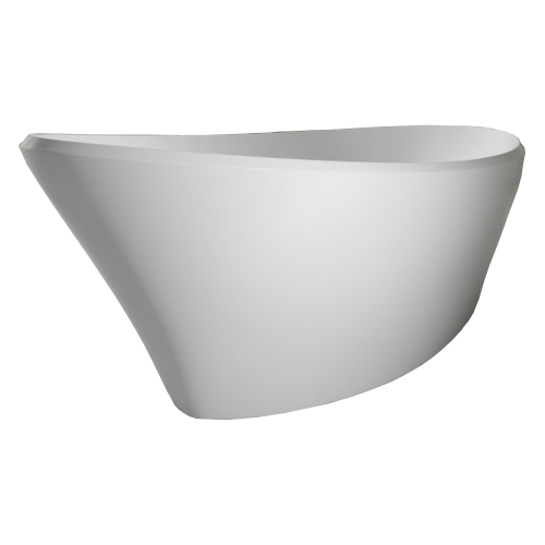 Voda Design Averno Solid Surface Stonecast Bath - 1700mm