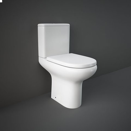 RAK Ceramics Compact Close Coupled Toilet with Soft Close Seat